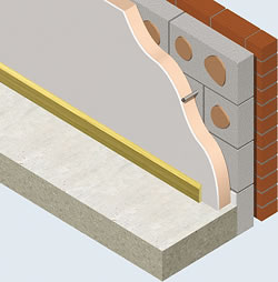Kingspan Kooltherm K17 insulated plasterboard, is an insulated wallboard laminate ideal for use in plaster dab adhesive bonding dry–lining applications that provides insulation, dry-lining and vapour control in one board.