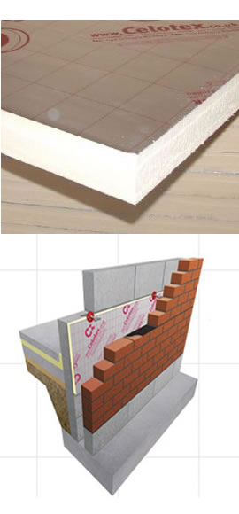 Celotex Cavity wall CW4000
